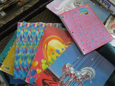 old notebooks